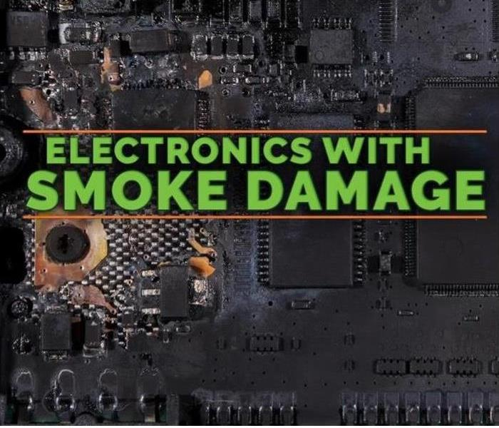 Smoke damaged electronics